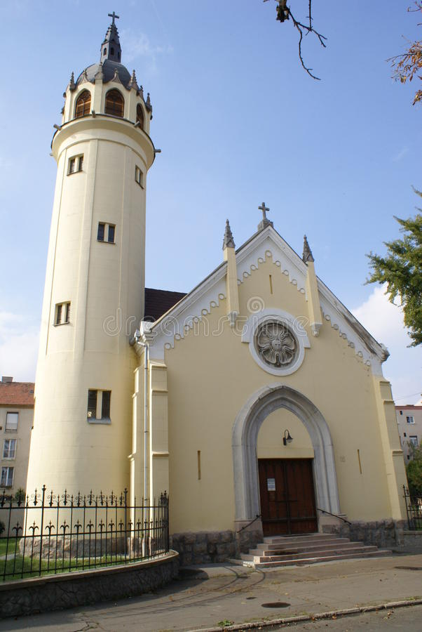 Capela @ Szolnok, Hungria foto de stock