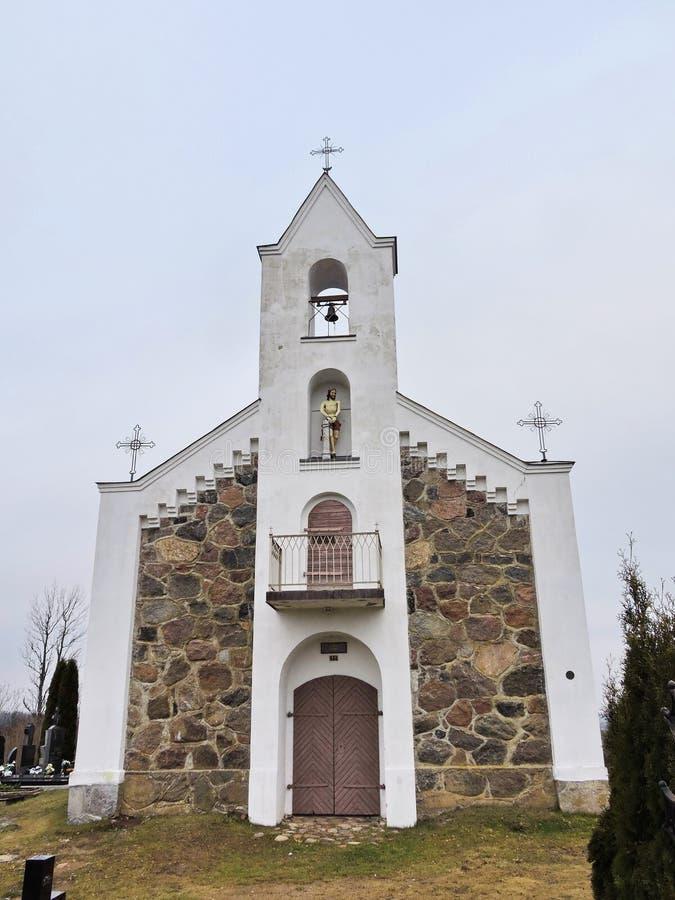 Capela velha, Lituânia foto de stock