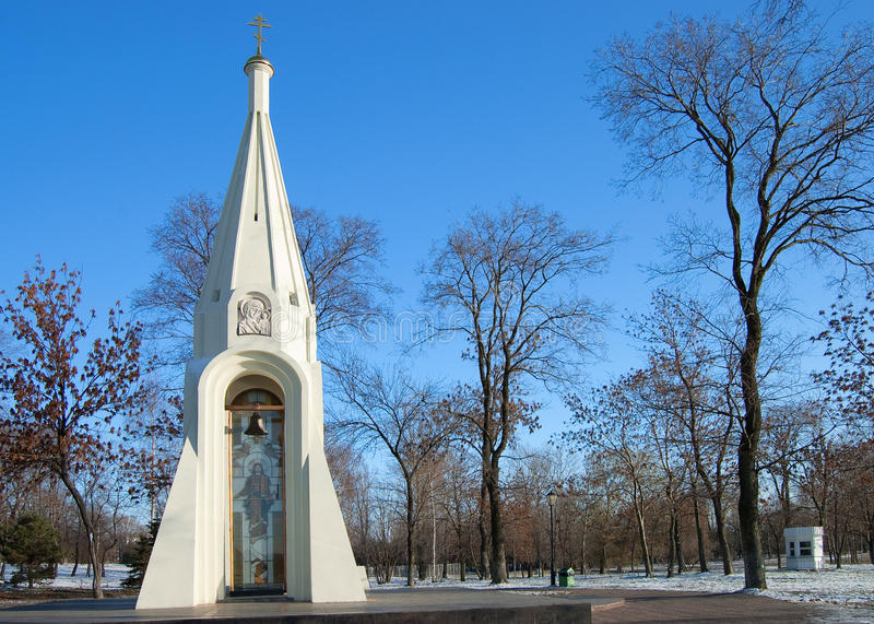 Capela velha na cidade de Yaroslavl imagem de stock royalty free