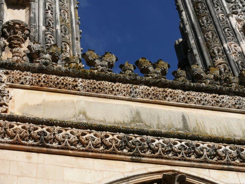 Capelas inacabados, monastério de Batalha imagem de stock royalty free