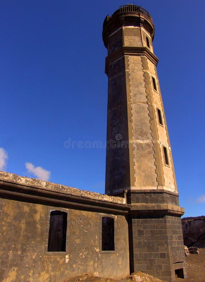 Download Capelinhos lighthouse stock photo. Image of portugal, capelinhos - 447444