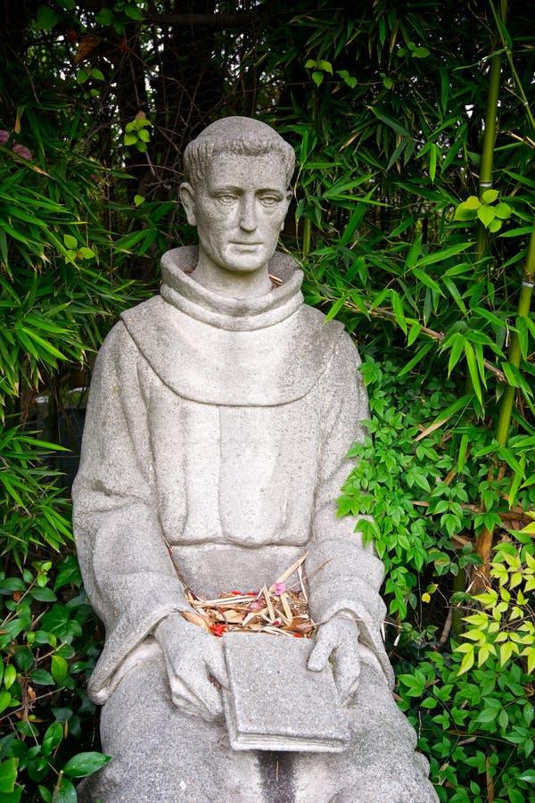 Capellán Fermin Lasuen Statue fotografía de archivo libre de regalías