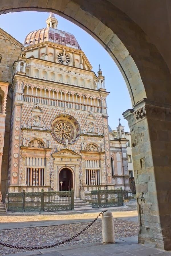 Capella Colleoni, Bergamo, Italy. Capella Colleoni, Basilica Santa Mria Maggiore Bergamo, Italy royalty free stock photo