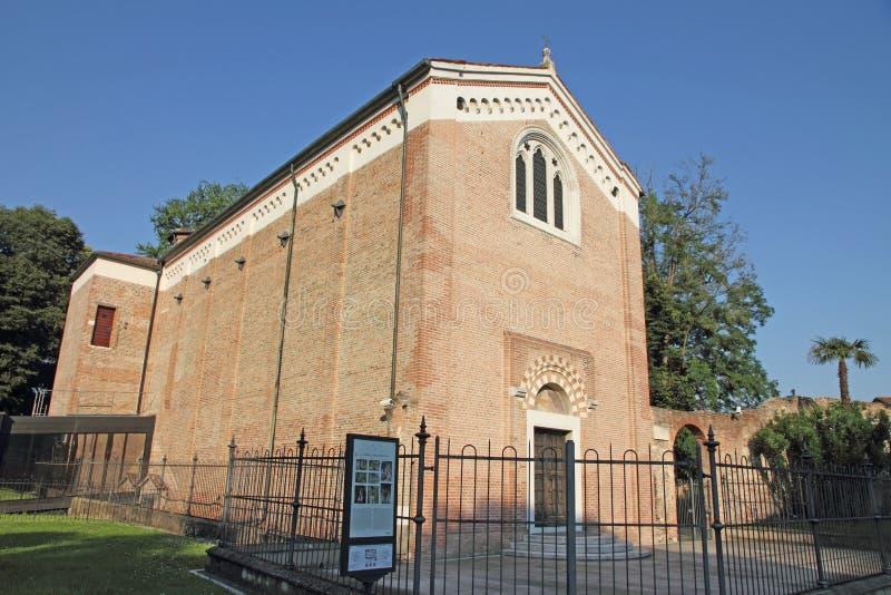 Capella degli Scrovegni in Padua, Italy. Capella degli Scrovegni in Padua, Veneto, Italy royalty free stock images