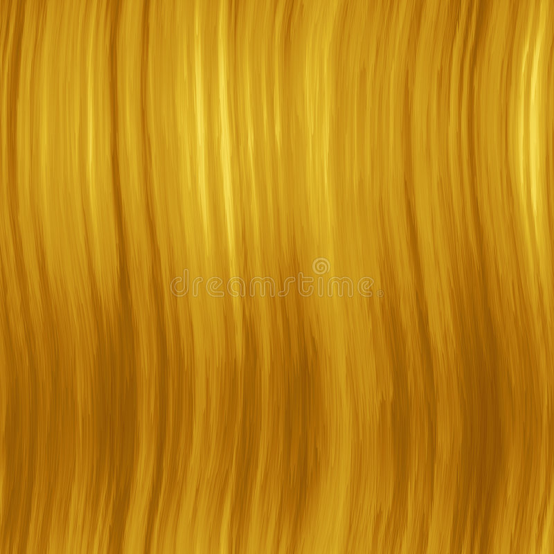 Capelli biondi di SL illustrazione vettoriale