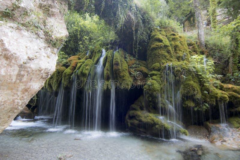 Capelli di Venere waterfall stock images
