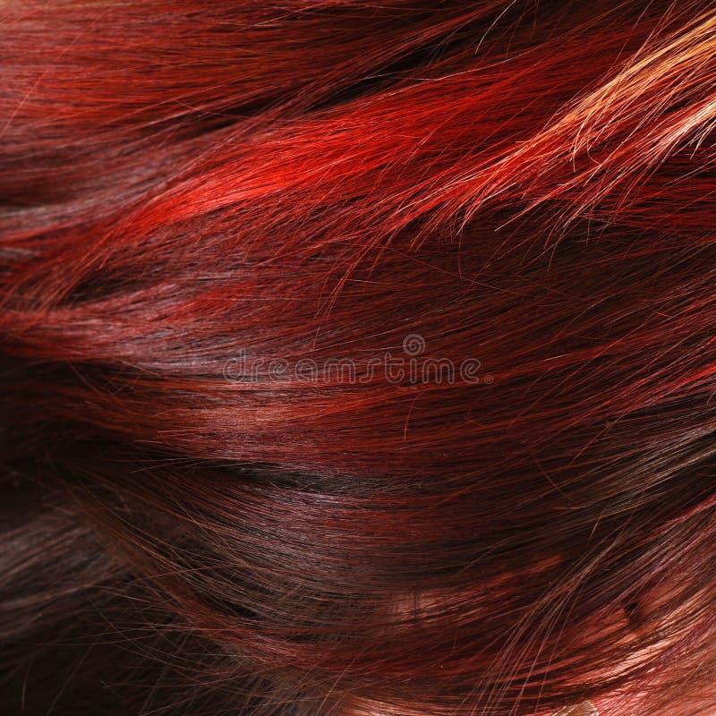 Capelli femminili rossi fotografie stock libere da diritti