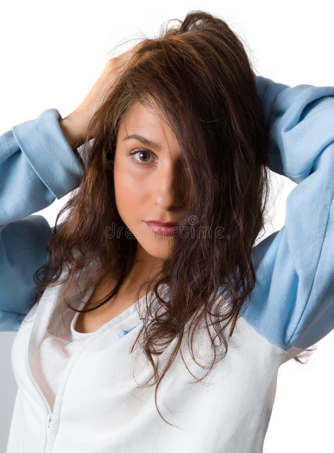 Capelli sexy fotografia stock libera da diritti