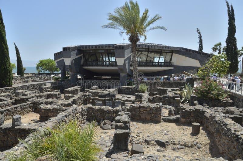 Capernaum стоковое изображение
