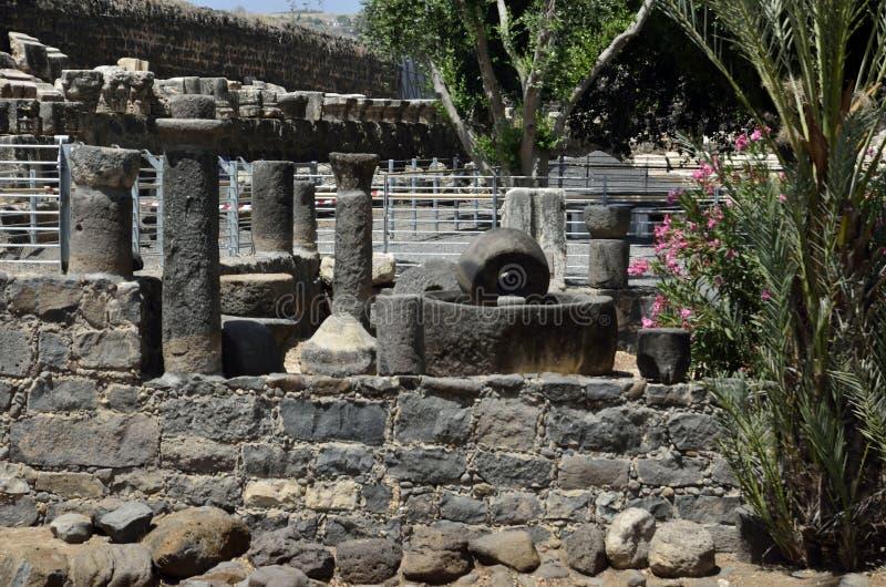 Capernaum fotografia stock libera da diritti