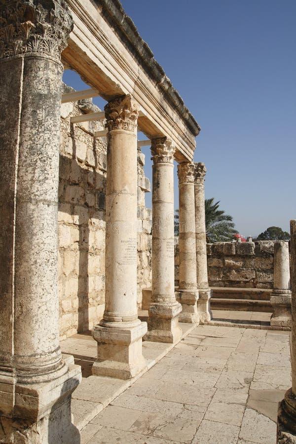 Capernaum fotografie stock libere da diritti
