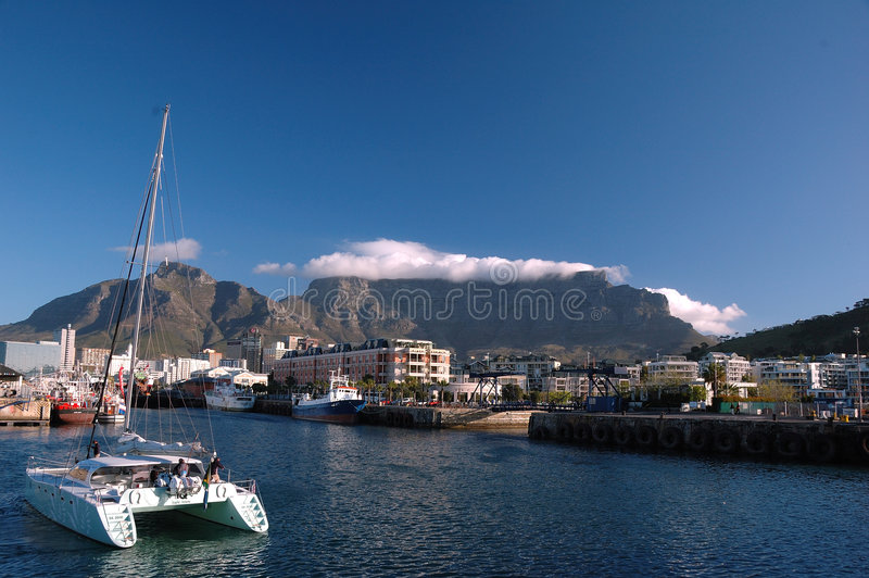 Capetown (Afrique du Sud) photo stock