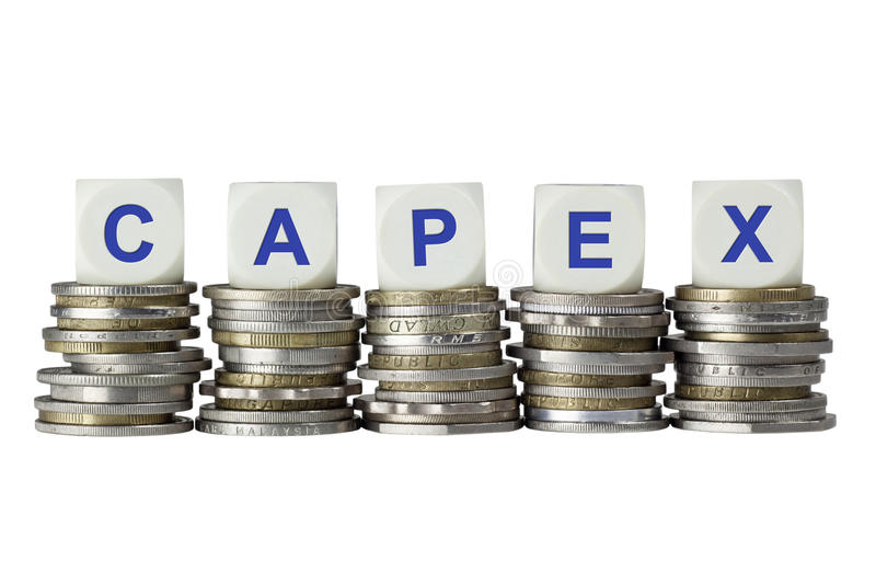 CAPEX - Capital Expenditure stock images