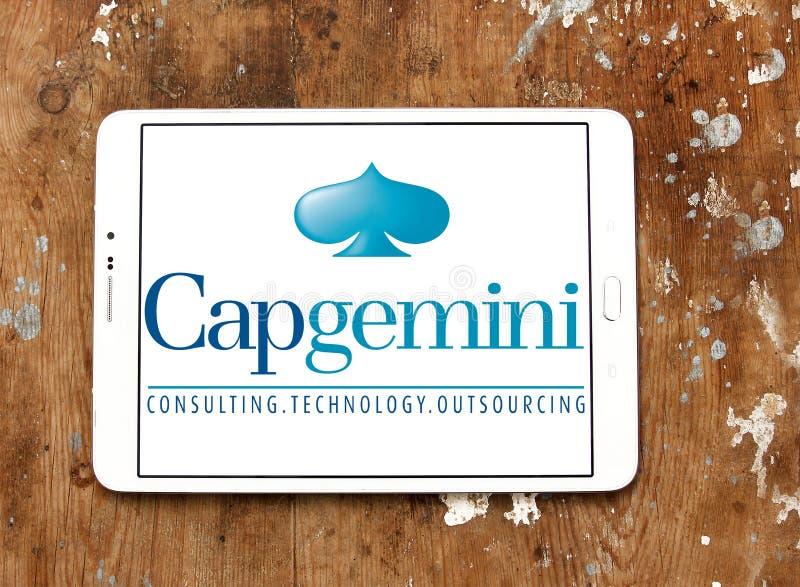 Capgemini-Beratungsfirmalogo stockfoto