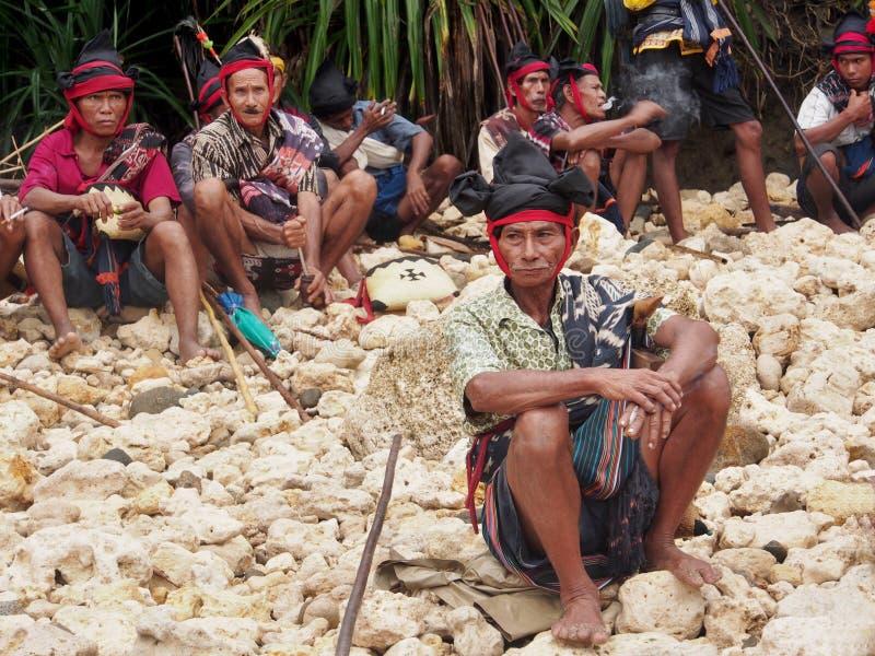Capi sull'isola di Sumba fotografia stock