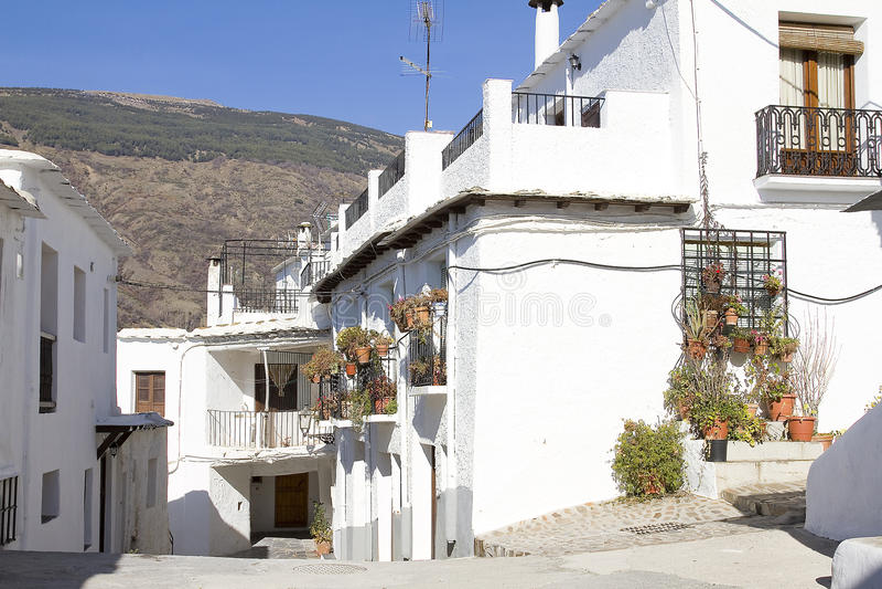 Capileira Spanien royaltyfri fotografi