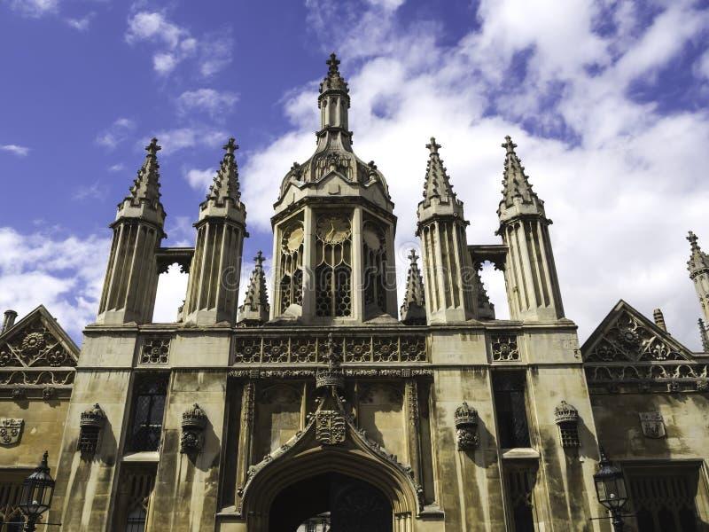 Capilla Cambridge de la universidad de los reyes foto de archivo libre de regalías