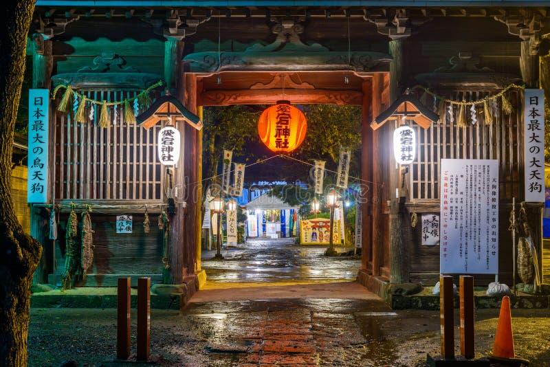Capilla de Atago en Sendai Japan foto de archivo