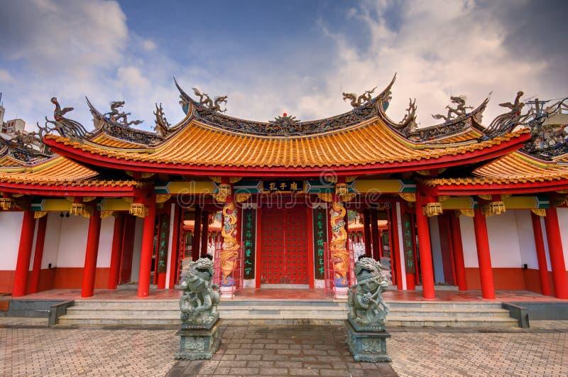 Capilla de Confucio imagenes de archivo