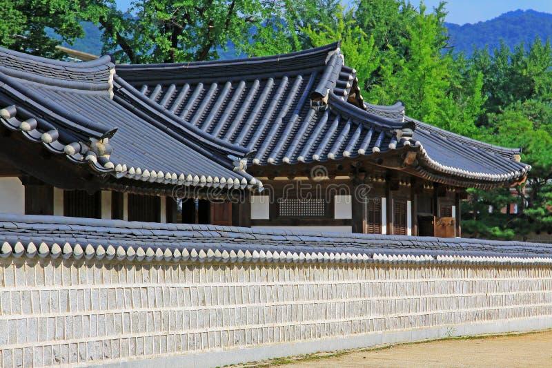 Capilla de Corea Jeonju Gyeonggijeon fotos de archivo libres de regalías