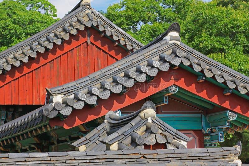Capilla de Corea Jeonju Gyeonggijeon fotos de archivo