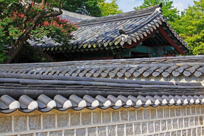 Capilla de Corea Jeonju Gyeonggijeon imagenes de archivo
