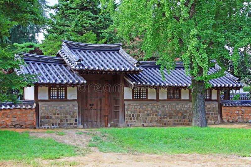 Capilla de Corea Jeonju Gyeonggijeon imagen de archivo