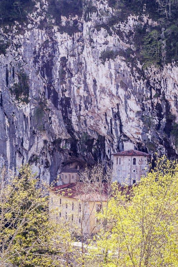 Capilla de Covadonga foto de archivo libre de regalías