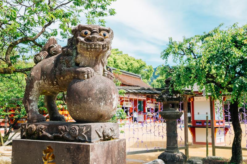 Capilla de Dazaifu Tenmangu en Fukuoka, Japón fotos de archivo libres de regalías
