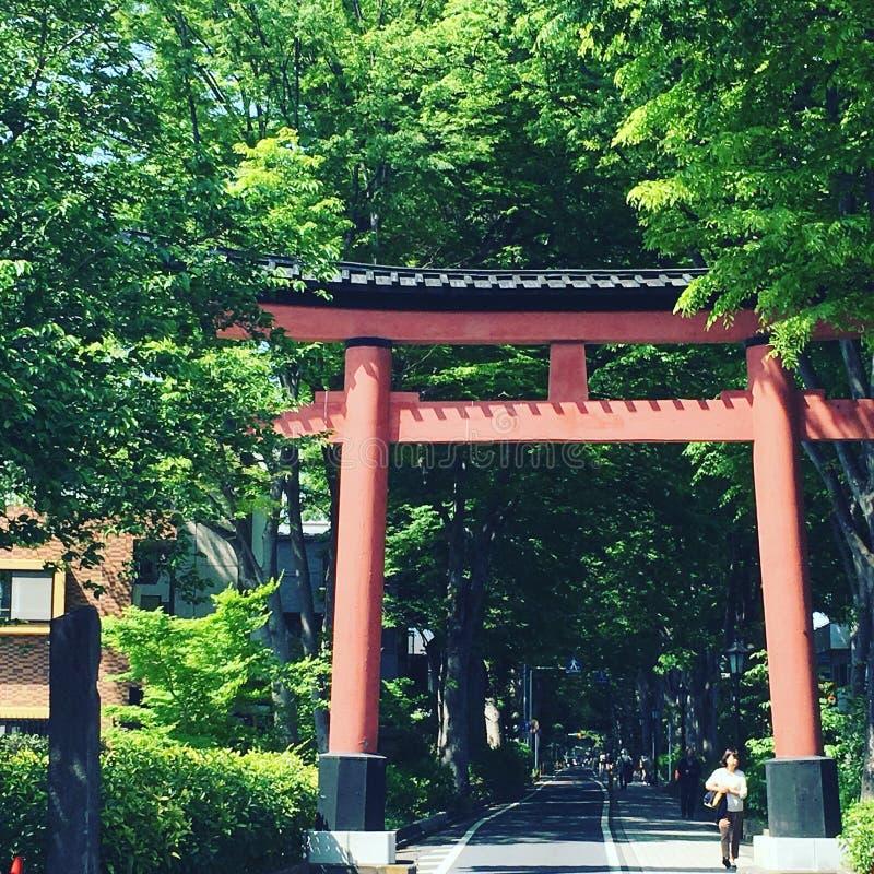 Capilla de Hikawa fotos de archivo libres de regalías
