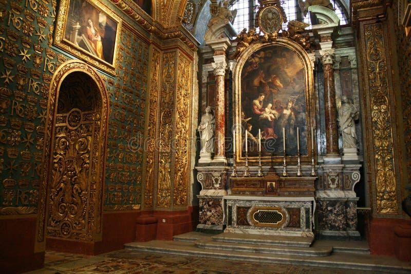 capilla de la Co-catedral imagen de archivo libre de regalías