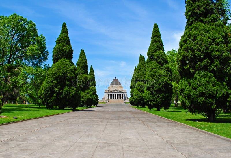 Capilla de la conmemoración Melbourne fotografía de archivo