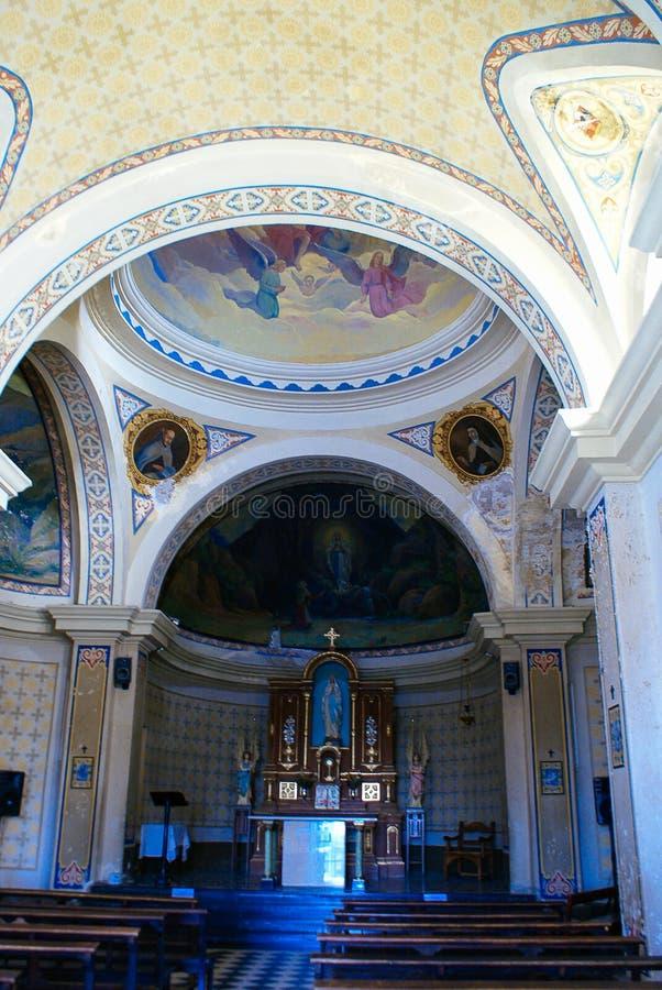 Capilla de la Gruta i Alta Gracia royaltyfria bilder