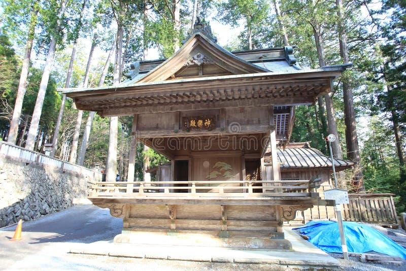 Capilla de Mitsumine en Saitama, Japón imagen de archivo