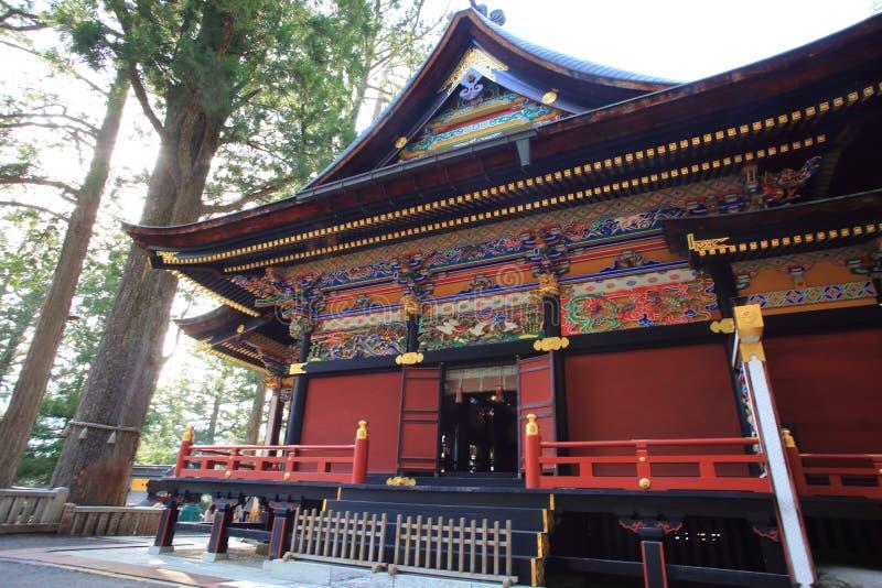 Capilla de Mitsumine en Saitama, Japón fotografía de archivo libre de regalías