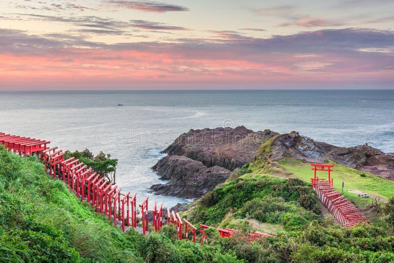 Capilla de Motonosumi, Japón fotos de archivo