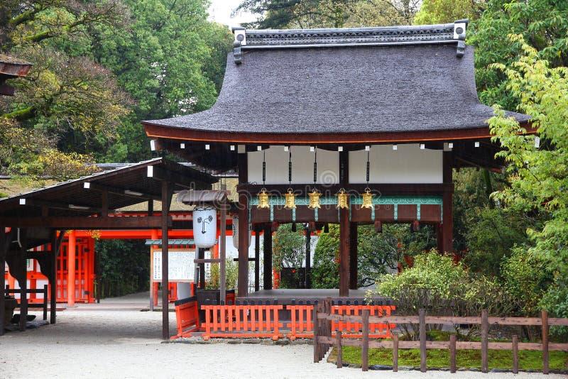 Capilla de Shimogamo imágenes de archivo libres de regalías