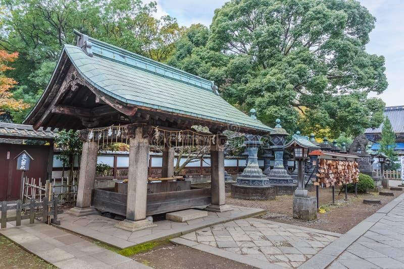 Capilla de Toshogu en el parque de Ueno en Tokio imágenes de archivo libres de regalías