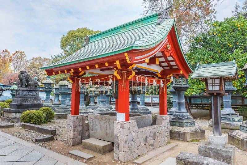 Capilla de Toshogu en el parque de Ueno en Tokio foto de archivo
