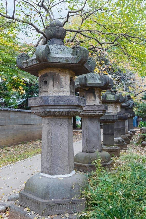 Capilla de Toshogu en el parque de Ueno en Tokio fotografía de archivo libre de regalías