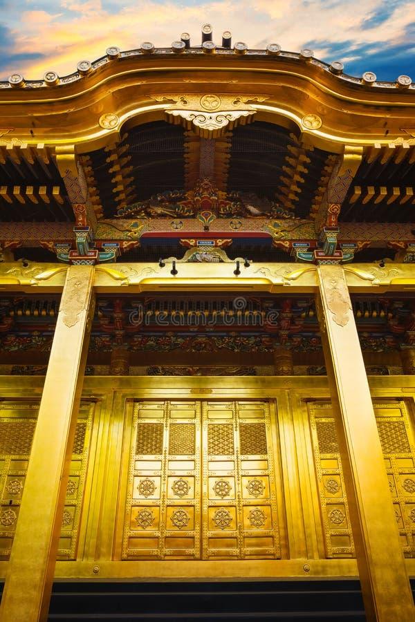 Capilla de Ueno Toshogu construida en Tokio, Japón fotografía de archivo libre de regalías