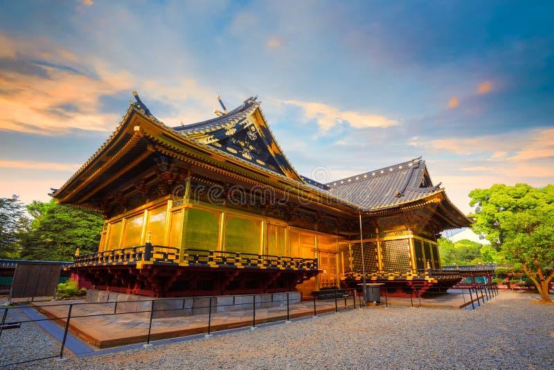 Capilla de Ueno Toshogu en el parque de Ueno, Tokio, Japón foto de archivo libre de regalías