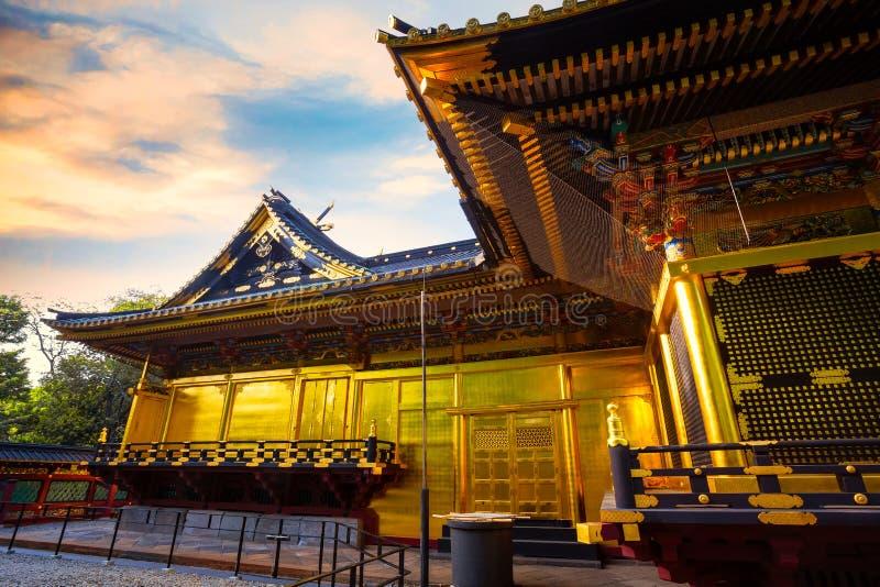 Capilla de Ueno Toshogu en el parque de Ueno, Tokio, Japón imagen de archivo libre de regalías