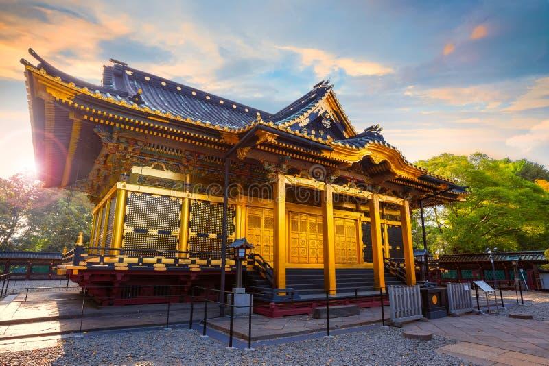 Capilla de Ueno Toshogu en el parque de Ueno, Tokio, Japón fotografía de archivo