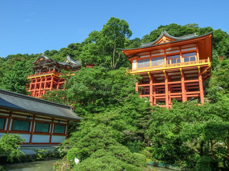 Capilla de Yutoku Inari imagen de archivo libre de regalías