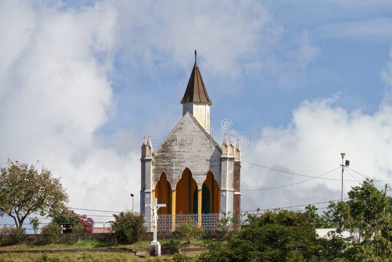Capilla del Calvary - Fort de France - Martinica imagen de archivo libre de regalías