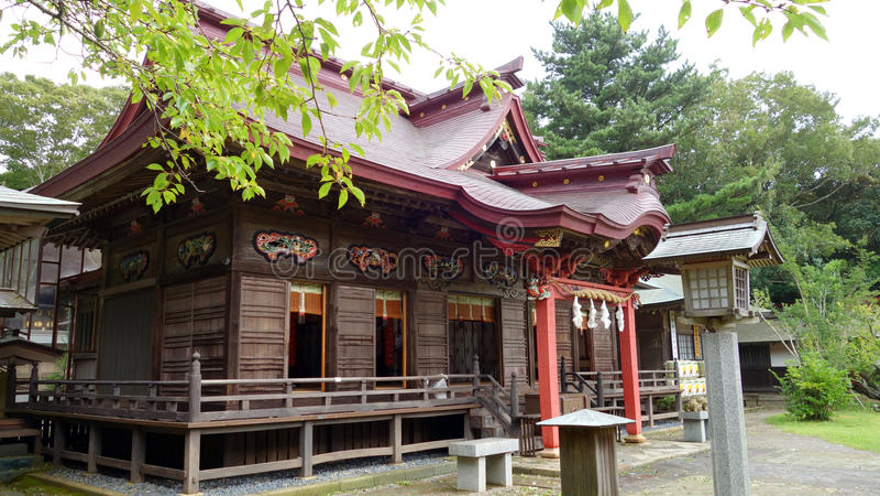 Capilla del isosaki de Oarai, Ibaraki imagenes de archivo