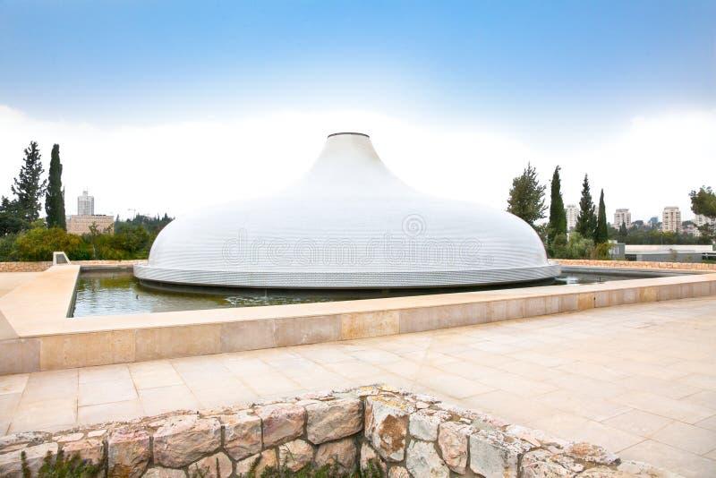 Capilla del libro, Israel imagen de archivo libre de regalías