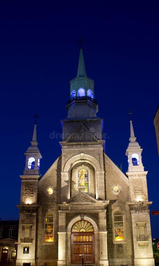 Capilla del Notre-Dama-de-Bon-Secours imágenes de archivo libres de regalías