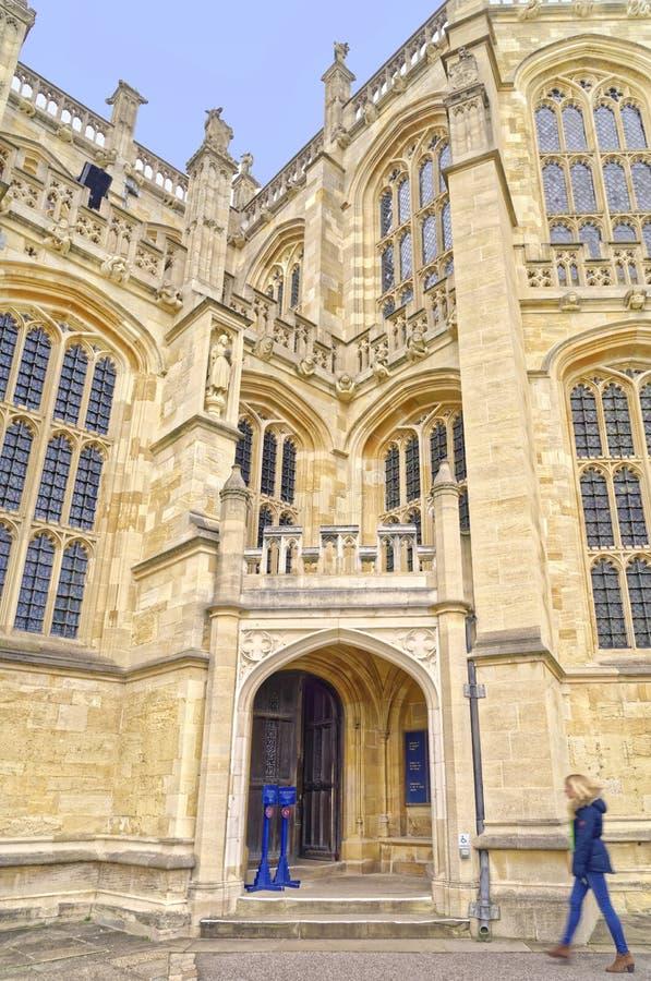 Capilla del `s de San Jorge, Windsor imágenes de archivo libres de regalías